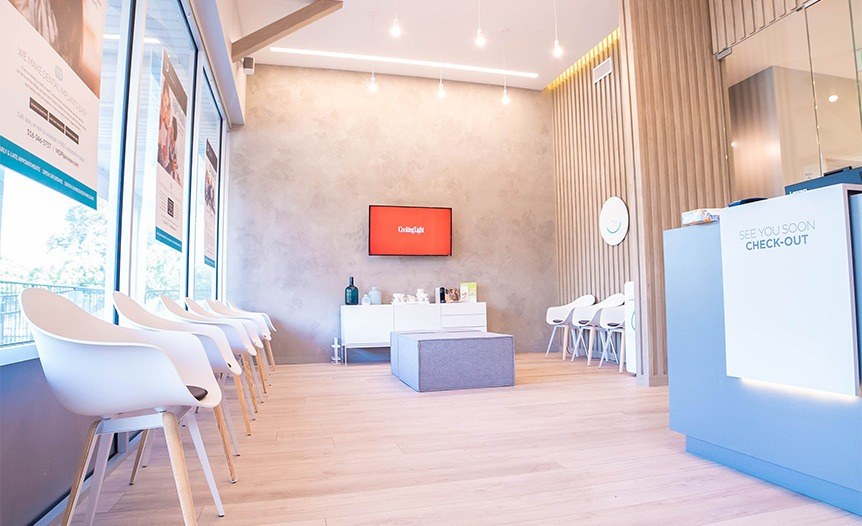 The Reception Area at Meadowbrook Dentistry